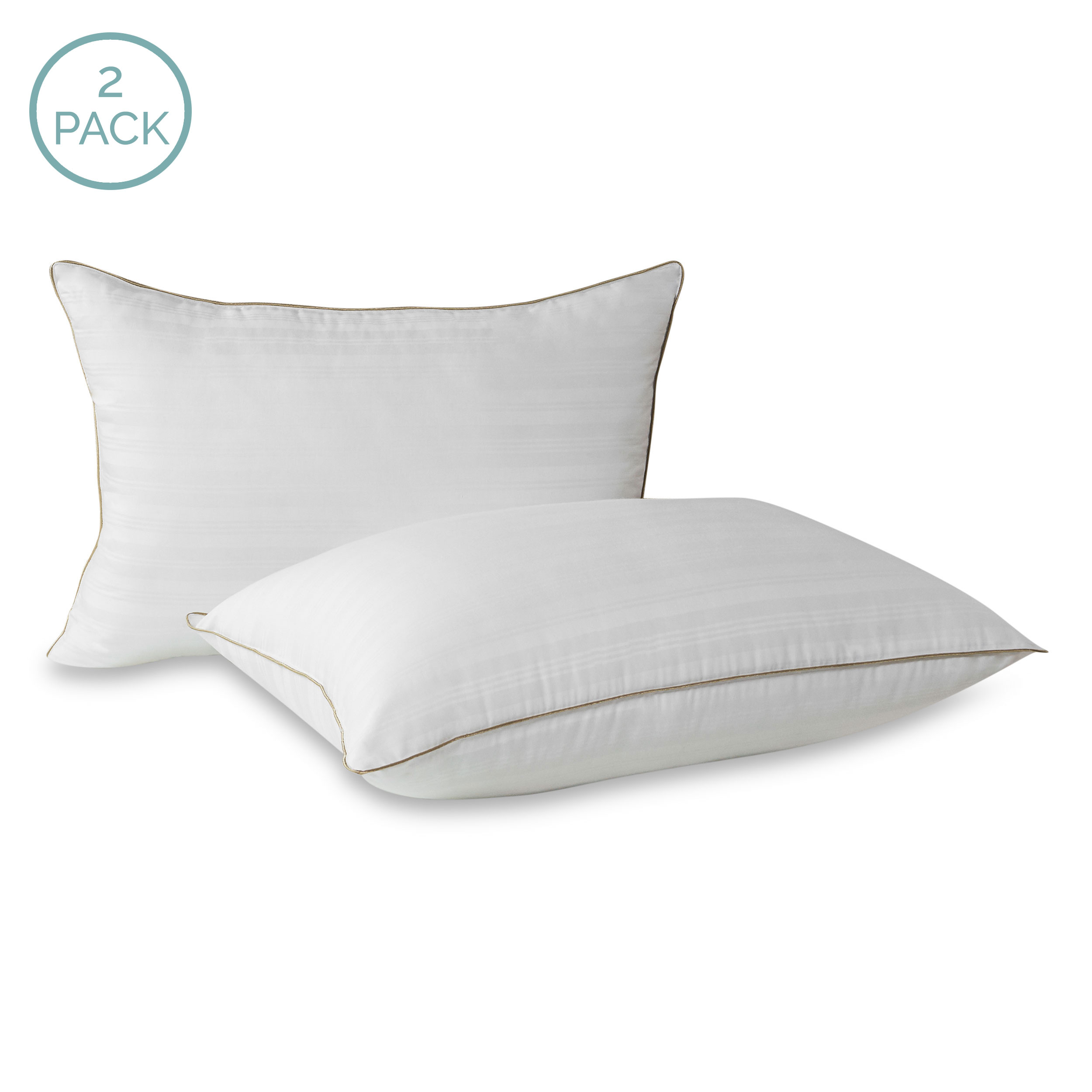 Beautyrest 174 Down Alternative Pillow 2 Pack Livecomfortably