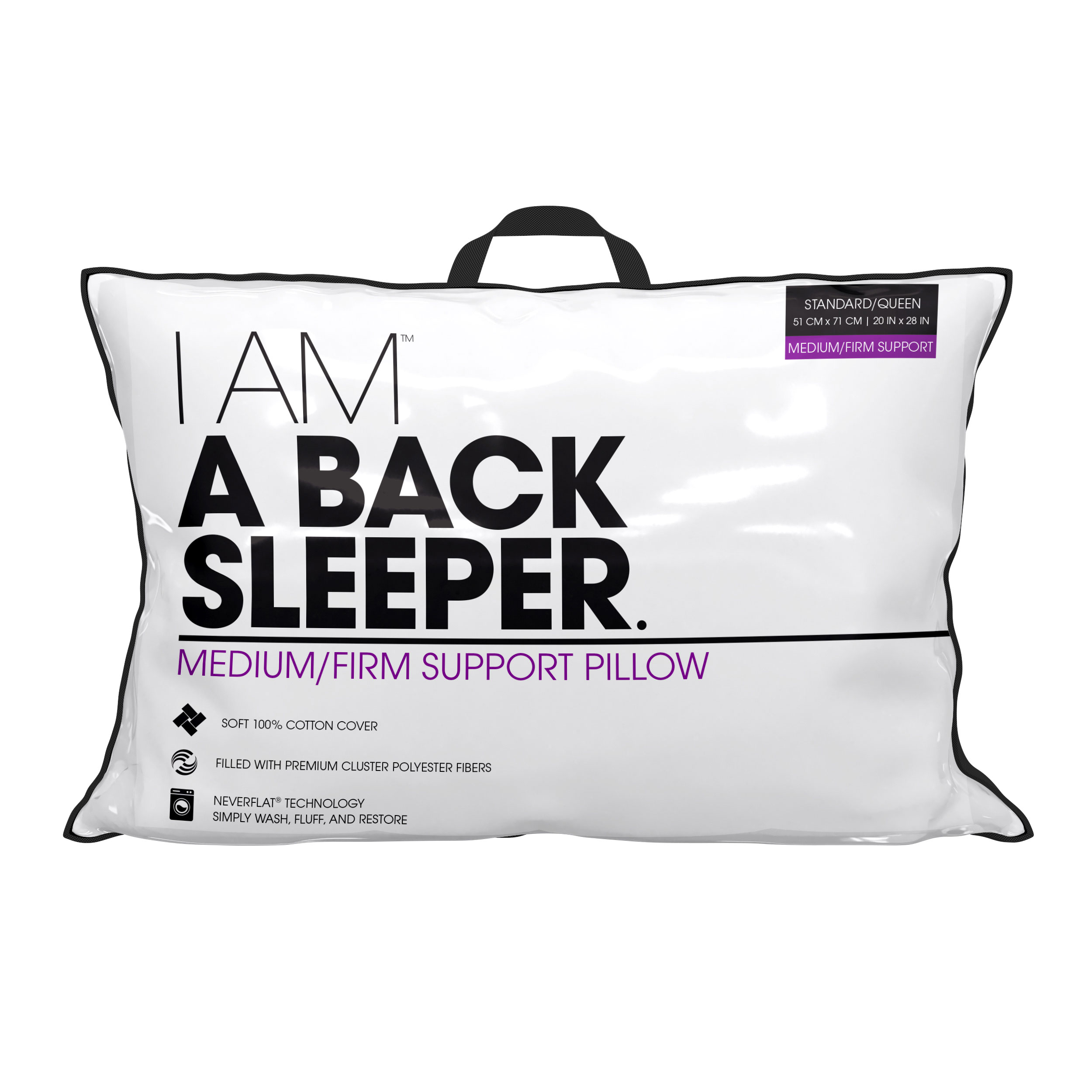 I Am Back Sleeper Pillow Livecomfortably