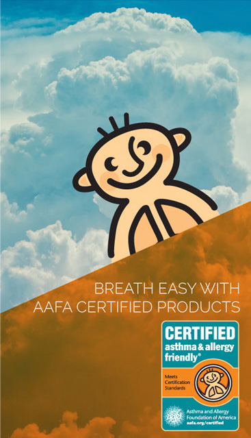 asthma & allergy friendly Certification - LiveComfortably