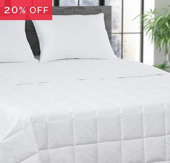 Live Comfortably® Down Alternative Blanket Sale - Save 20%