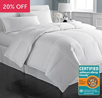 Great Sleep® Certified Asthma & Allergy Friendly® Comforter - Save 20%
