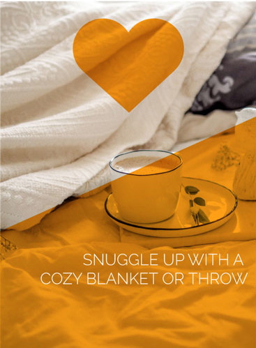 Snuggle Up With A Cozy Blanket Or Throw