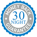 30 Night Money Back Guarantee - Learn More