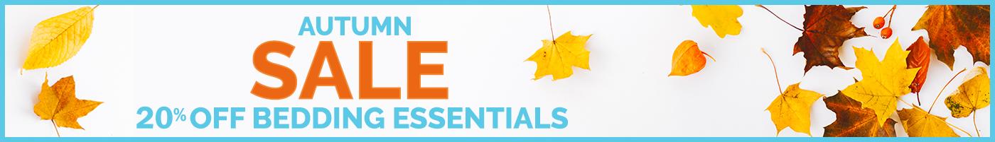 Autumn Sale - 20% Off Bedding Essentials
