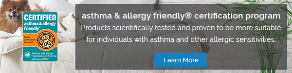 asthma & allergy friendly® certification program - Learn More