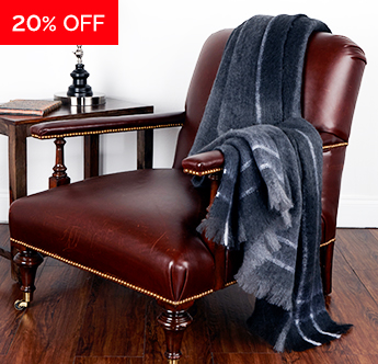 Live Comfortably® Timeless Warmth Silky Mohair Throw - Save 20%