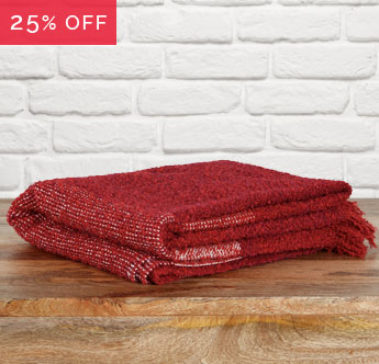 Live Comfortably® Responsible Luxury Throw - Save 25%